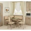 Virtuvės komplektas su kėdėmis