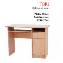 Rašomasis stalas TBIU
