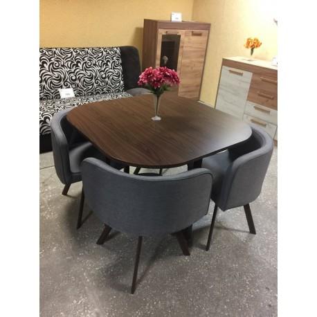 Stalas su kėdėmis MLM-180341