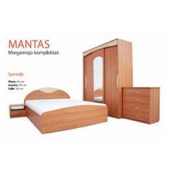 Miegamojo komplektas MANTAS