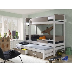 Dviaukštė lova QUATRO 3