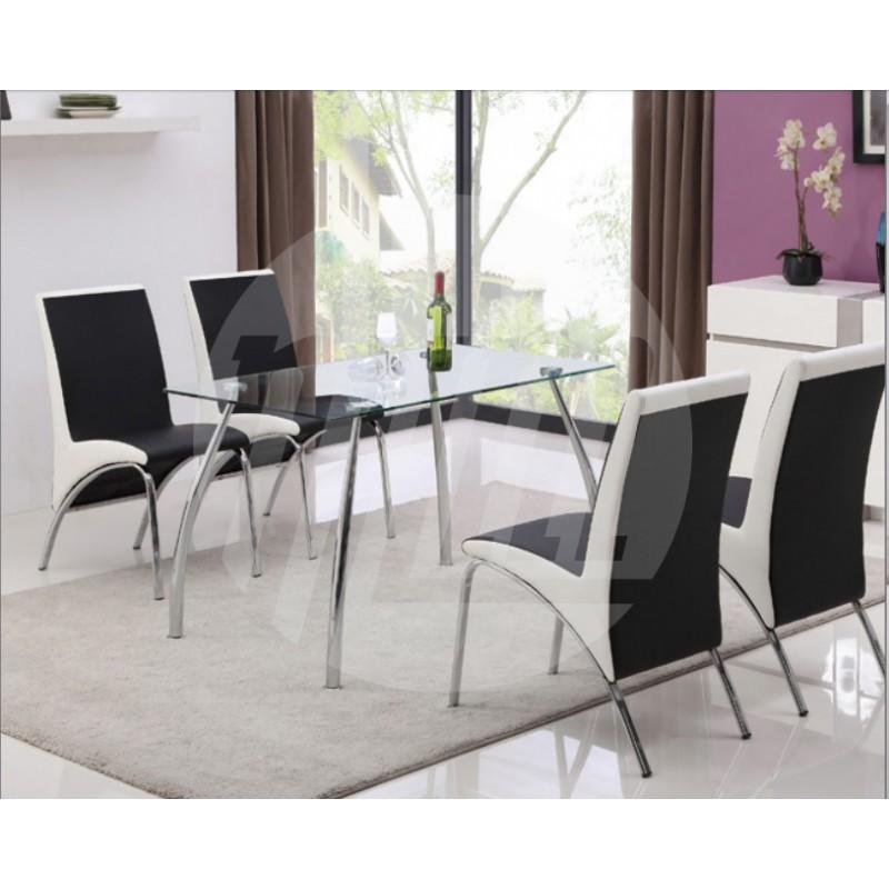 Stalas su 4 kėdėmis